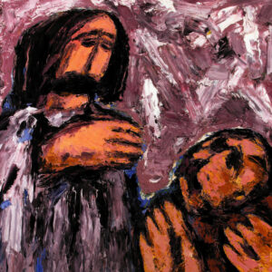 Isus ozdravlja (Đuro Seder)