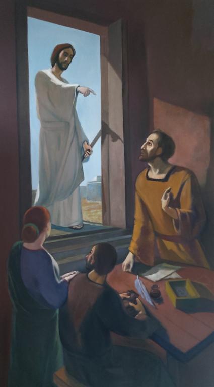 Poziv apostola Mateja (Josip Biffel)