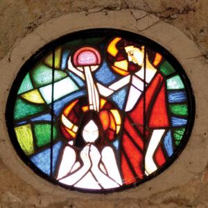 Isusovo krštenje (Slavko Šohaj)